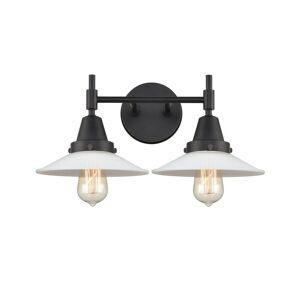 Innovations Lighting Bruno Marashlian Caden 18 Inch 2 Light Bath Vanity Light Caden - 447-2W-BK-G1 - Transitional