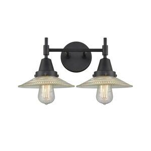 Innovations Lighting Bruno Marashlian Caden 18 Inch 2 Light Bath Vanity Light Caden - 447-2W-BK-G2 - Transitional