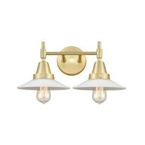 Innovations Lighting Bruno Marashlian Caden 18 Inch 2 Light Bath Vanity Light Caden - 447-2W-SB-G1 - Transitional
