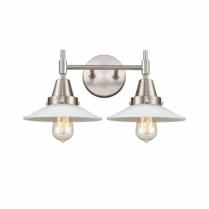 Innovations Lighting Bruno Marashlian Caden 18 Inch 2 Light Bath Vanity Light Caden - 447-2W-SN-G1 - Transitional