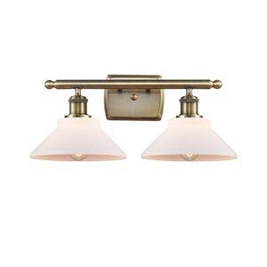 Innovations Lighting Bruno Marashlian Orwell 18 Inch 2 Light Bath Vanity Light Orwell - 516-2W-AB-G131-LED - Nautical