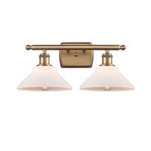 Innovations Lighting Bruno Marashlian Orwell 18 Inch 2 Light Bath Vanity Light Orwell - 516-2W-BB-G131