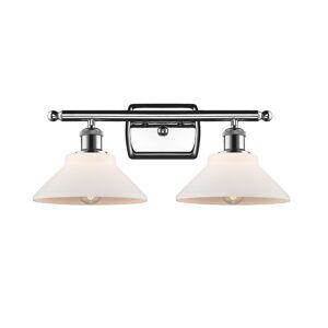 Innovations Lighting Bruno Marashlian Orwell 18 Inch 2 Light Bath Vanity Light Orwell - 516-2W-PC-G131-LED - Restoration-Vintage