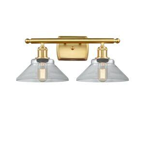 Innovations Lighting Bruno Marashlian Orwell 18 Inch 2 Light Bath Vanity Light Orwell - 516-2W-SG-G132 - Industrial