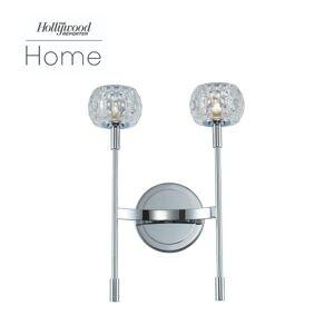 Kalco Lighting Mae 15 Inch 2 Light LED Bath Vanity Light Mae - 511622CH - Modern Contemporary