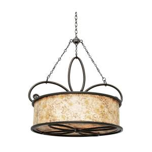 Kalco Lighting Whitfield 28 Inch Large Pendant Whitfield - 6585AC - Traditional