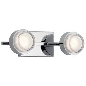 Elan Lighting Harlaw 15 Inch LED Bath Vanity Light Harlaw - 85076CH - Modern Contemporary