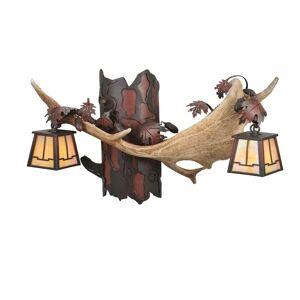 Meyda Lighting Antlers Fallow Deer 23 Inch Wall Sconce Antlers Fallow Deer - 106612 - Rustic