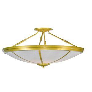 Meyda Lighting Commerce 45 Inch 8 Light Semi Flush Mount Commerce - 99806 - Transitional