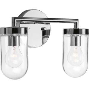 Progress Lighting Signal 13 Inch 2 Light Bath Vanity Light Signal - P300175-015 - Modern Contemporary