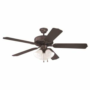 Craftmade Pro Builder 205 52 Inch Ceiling Fan with Light Kit Pro Builder 205 - K10423 - Transitional
