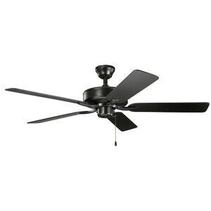 Kichler Lighting Basics Pro Patio 52 Inch Ceiling Fan Basics Pro Patio - 330015SBK - Traditional