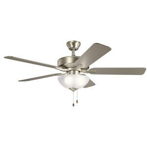Kichler Lighting Basics Pro Select 52 Inch Ceiling Fan with Light Kit Basics Pro Select - 330017NI - Traditional