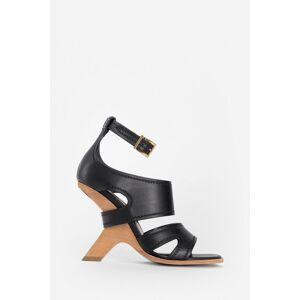 Alexander Mc Queen Sandals [female]   size: 37, BLACK