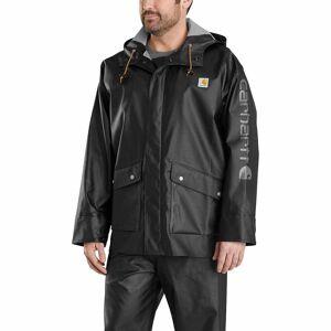 Carhartt Waterproof Loose Fit Heavyweight Coat    Black size:2XL