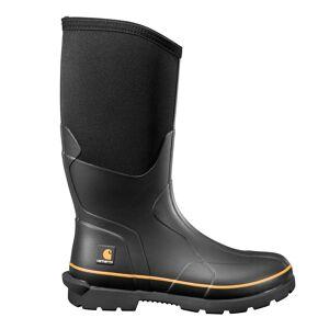 Carhartt Mudrunner 15-Inch Carbon Nano Toe Rubber Boot  male  Black size:M X 10