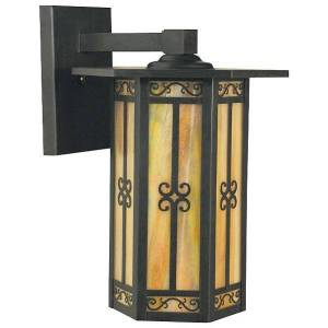 Arroyo Craftsman Lily Outdoor Wall Sconce - LIB-11-BZ-WO - Size: Large - Style: Craftsman & Mission