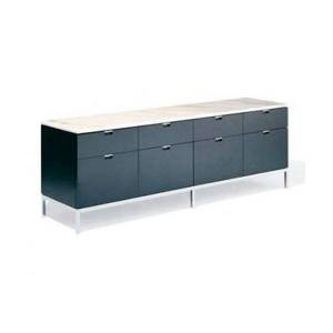 Knoll Florence Knoll Eight Drawer Credenza - 2549M-C-P-P-W-2549X - Knoll Authorized Retailer