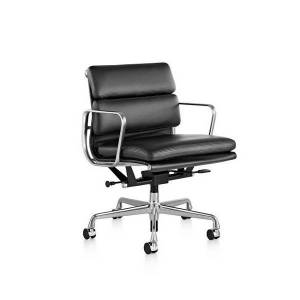 Herman Miller Eames Soft Pad Management Chair - EA435PVDG2G2TI48 - Herman Miller Authorized Retailer - Style: Mid-Century Modern