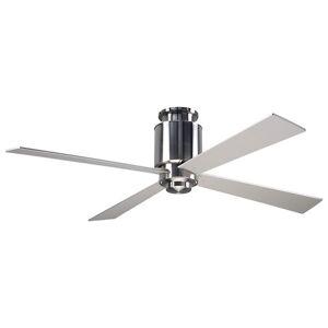 Modern Fan Company Lapa Flushmount Light Ceiling Fan - LAP-FM-DB-50-WH-552-002 - Body Finish: Dark Bronze - Blade Color: White - Flushmount Ceiling Fa