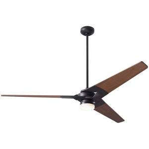 Modern Fan Company Torsion Ceiling Fan - TOR-DB-62-WH-NL-005 - Body Finish: Dark Bronze - Blade Color: White - Style: Industrial