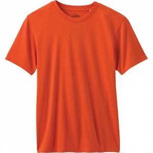 Prana Men's Crew Tee - Large - Koi Heather