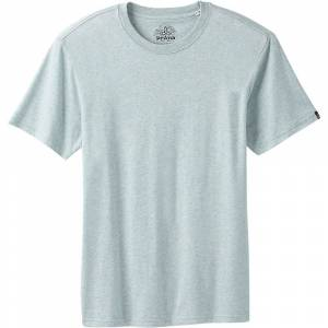 Prana Men's Crew Tee - Small - Agave Heather