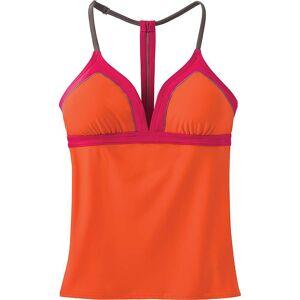 Prana Women's Aleka Tankini - Small - Electric Orange