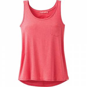 Prana Women's Foundation Scoop Neck Tank Top - Medium - Rhubarb Heather