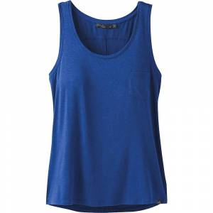 Prana Women's Foundation Scoop Neck Tank Top - Medium - Sapphire Heather