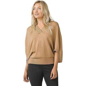 Prana Women's Daria Sweater Hoodie - Large - Camel