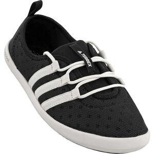 Adidas Women's Terrex CC Boat Sleek Shoe - 10.5 - Black / Chalk White / Matte Silver