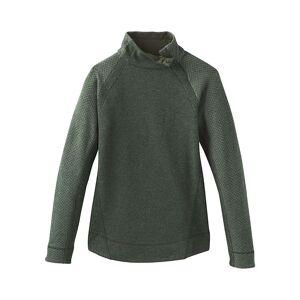 Prana Women's Brandie Sweater - XS - Rye Green Heather