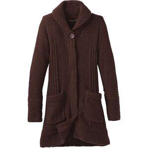 Prana Women's Elsin Sweater Coat - XL - Cocoa