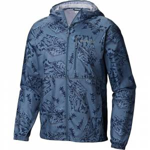 Columbia Men's Flash Forward Printed Windbreaker Jacket - Small - Mountain Ole Mtn CSC Print