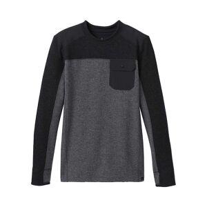 Prana Men's Lonan Long Sleeve - XL - Charcoal
