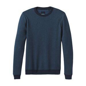 Prana Men's Vertawn Sweater - Medium - Blue Note Heather