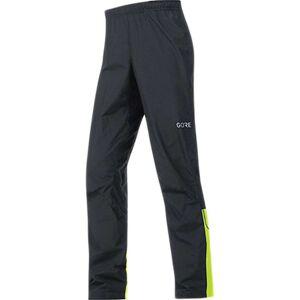 Gore Wear Men's Gore C3 Gore Windstopper Pant - Large - Black / Neon Yellow