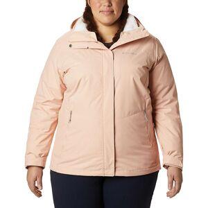 Columbia Women's Bugaboo II Fleece Interchange Jacket - 2X - Peach Cloud