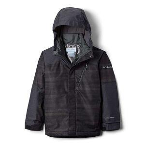 Columbia Youth Boys Whirlibird II Interchange Jacket - XL - Black Strokes/Black