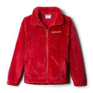 Columbia Infant's Fire Side Sherpa Full Zip - 3/6 Months - Pomegranate