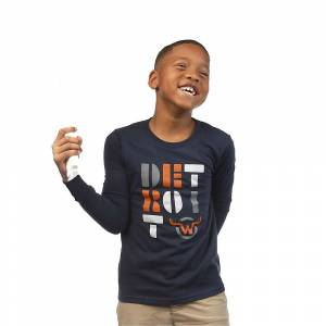 Moosejaw Kids' Chili Cheese Omelet LS Tee - Small - Navy