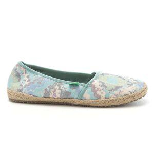 Sanuk Women's Mya Shoe - 7 - Blue / Multi