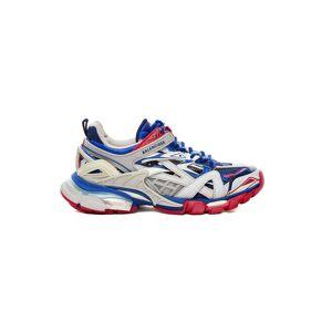 Balenciaga Blue & Red Track.2 Trainers