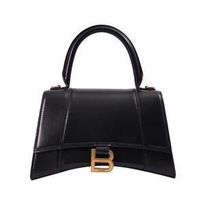 Balenciaga Black Small Hourglass Bag- female, One Size; Black