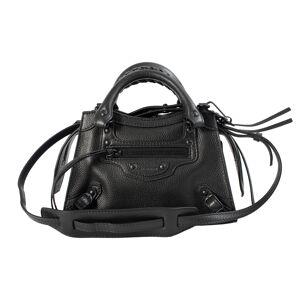 Balenciaga Neo Classic Mini Bag in Black- female, One Size; Black