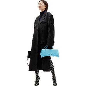 Balenciaga Hourglass Strech Top Bag- female, One Size; Blue