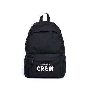 Balenciaga Balenciaga Crew Embroidered Backpack- female, One Size; Black