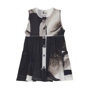 Lost&Found kids Cotton Printed Dress- female, 2;