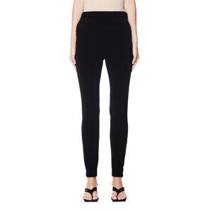 Balenciaga Black Skinny Trousers- female, 38; Black
